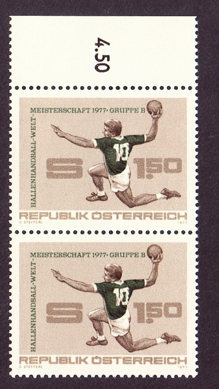 Austria Scott 1053, MNH, Pair, Handball
