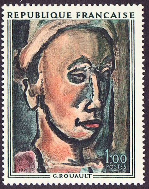 France Scott 1297, MNH, Painting, single stamp