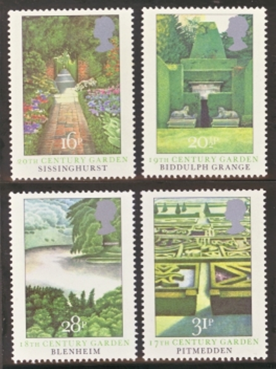 Great Britain Scott 1027-1030, MNH, 1983 paintings, set of 4