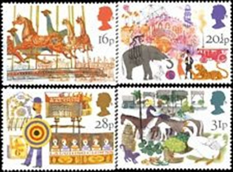 Great Britain Scott 1031-1034, MNH, 1983 British Fairs, set of 4