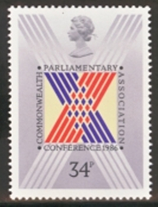 Great Britain Scott 1156-1156, MNH, 1986 Commonwealthe Parliamen