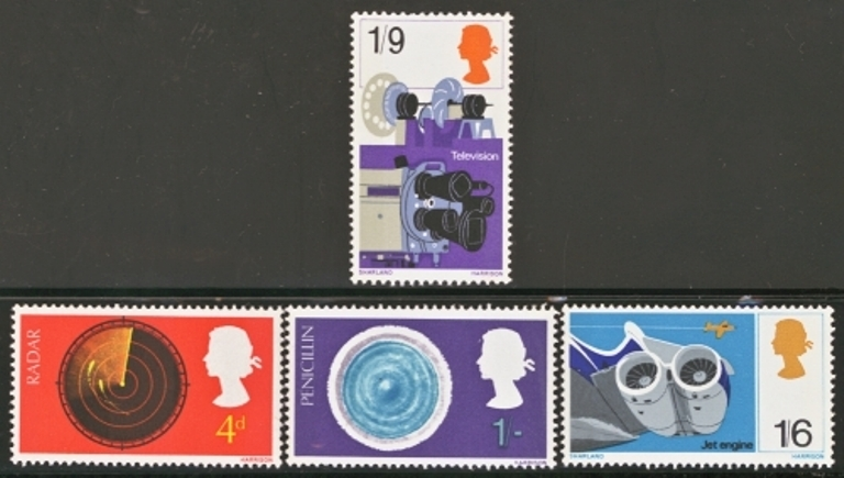 Great Britain Scott 0518-0521, MNH, 1967 Discoveries set of 4