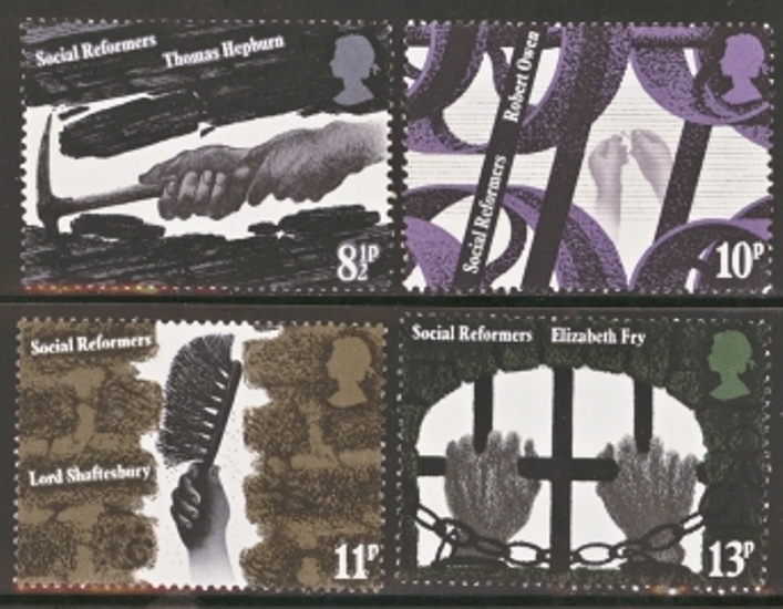 Great Britain Scott 0781-0784, MNH, 1976 Industries, set of 4