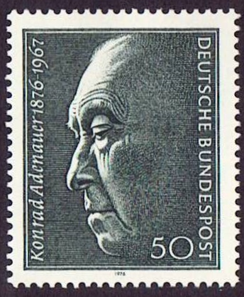 Germany Scott 1205, MNH, Konrad Adenauer 1876-1967
