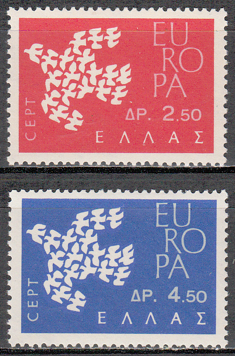 Greece Scott 0718-719, MNH, Europa set of 2