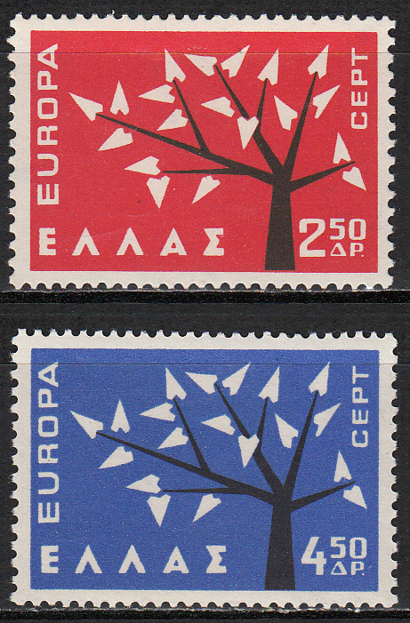 Greece Scott 0739-740, MNH, Europa