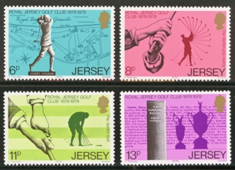 Jersey Scott 0183-0186, MNH, 1978 Golf, set of 4