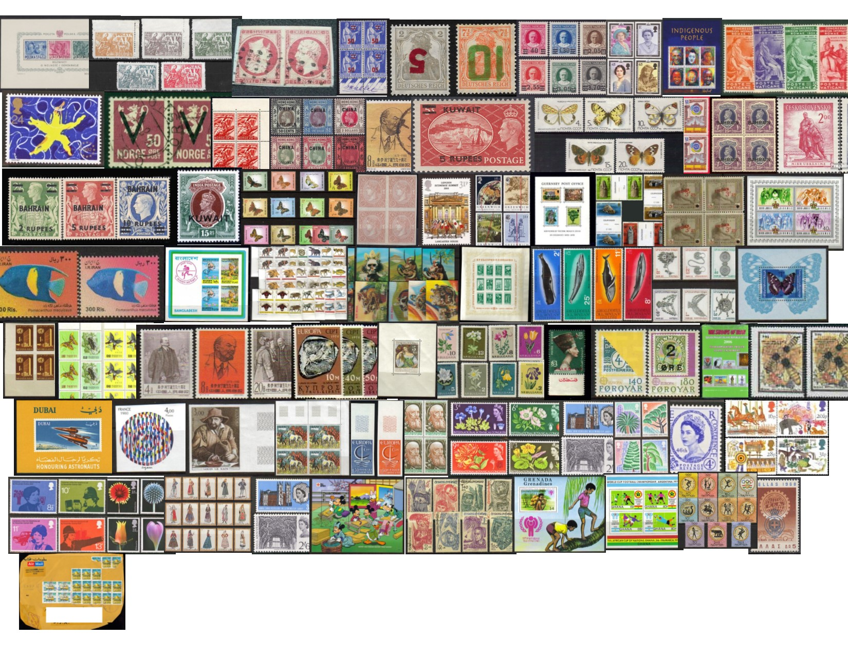 "<div class=""caption""><h1>All stamps are MNH, complete sets</h1><p><font size=+2>More items are being added</font></p></div>"